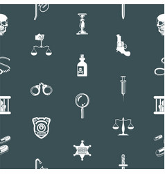 seamless tools background texture vector image vector image