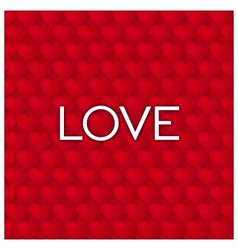 Simple Love background vector