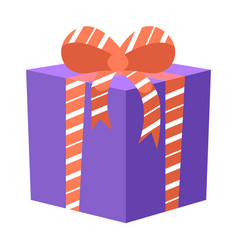 Surprise in box birthday present holidays gift vector