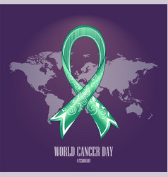 world cancer day-03 vector image