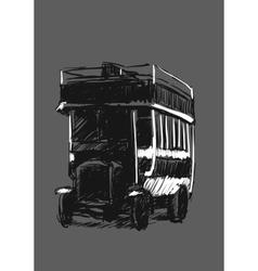 Retro automobile vector image vector image
