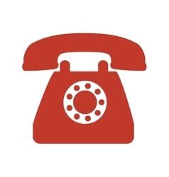 Telephone phone vintage vector