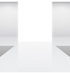 fashion runway or catwalk vector image