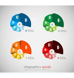 Infographcs design template vector image vector image
