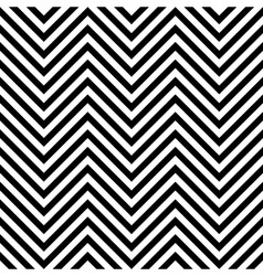Seamless zig zag background vector image vector image