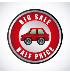 buy a car vector image