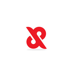 Circle connect infinity logo vector