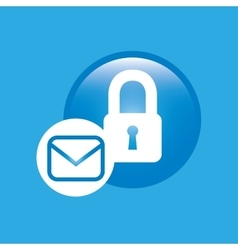 email settings design vector image
