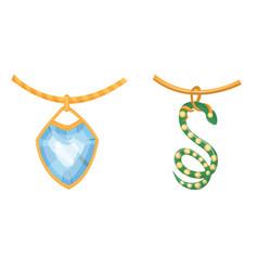 Jewelry jewellery gold bracelet necklace vector