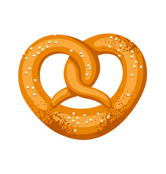 pretzel salt and soft for vector image