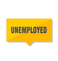 unemployed price tag vector image
