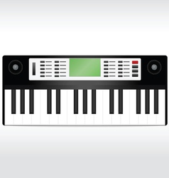 synthesizer vector image vector image