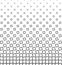 Black and white angular square pattern design vector image