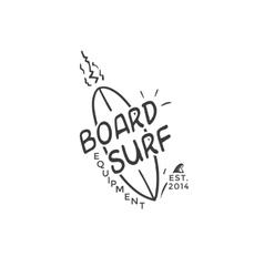 Surf logo vector image vector image