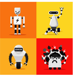 Broken mad robots set bad errors and hacking vector
