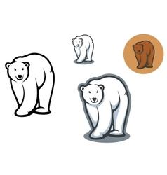 Bear mascots vector image vector image