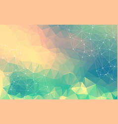 abstract polygonal background colorful geometric vector image