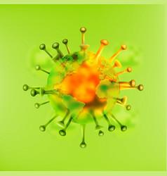 Globe earth infection coronavirus disease the vector