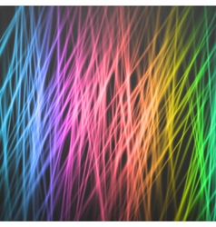 Motion Graphics Disco Light Template vector