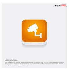 Security or surveillance camera icon vector