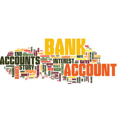 that initial trip to the bank text background vector image