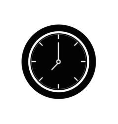 wall clock symbol vector image