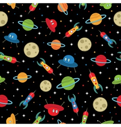 space pattern vector image vector image