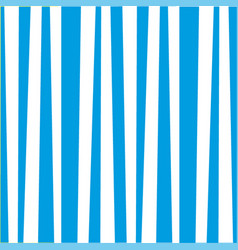 abstract seamless vertical blue and white striped vector image