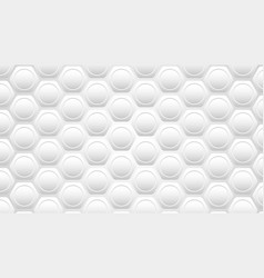 silver honeycomb background vector image