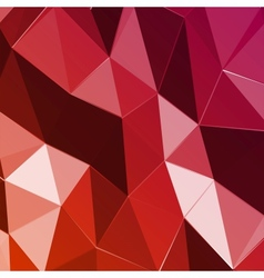 Abstract geometric red triangle background vector image