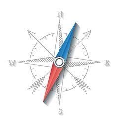 Compass conceptual sign vector