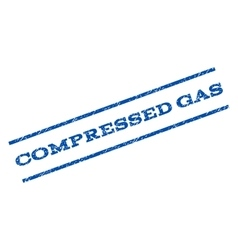 Compressed Gas Watermark Stamp vector