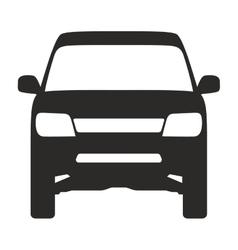 icon suv truck 4x4 off road vector image