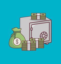 money savings design vector image
