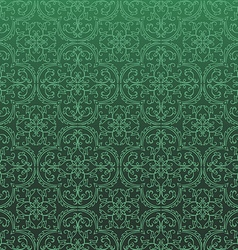 Seamless Damask Background Pattern Design and vector image