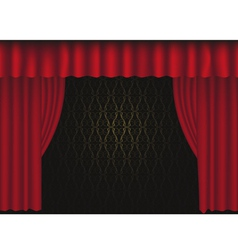 Tre curtain vector
