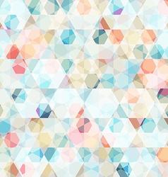 cell diamond seamless pattern vector image