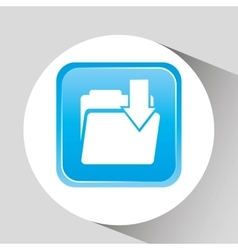 files management design vector image
