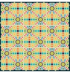 Islamic abstract geometric background vector image vector image