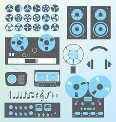 Retro Recording vector image vector image