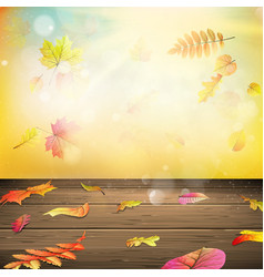 Autumn background eps 10 vector