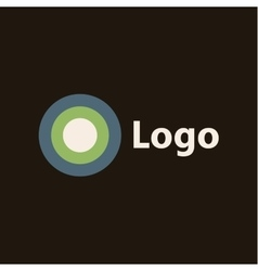 Logo flat style icon of high quality sign vector image vector image