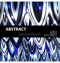 Abstract geometric disco glowing of background vector image
