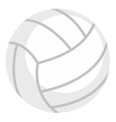 ball for playing volleyball icon isolated vector image