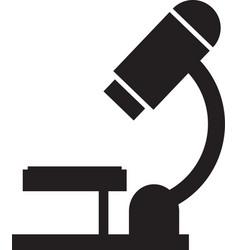 diabetes microscope icon simple vector image