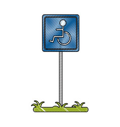 parking related icon image vector image