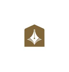simple design education symbol vector image