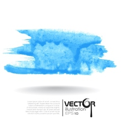 Abstract Blue Blurred Background vector image