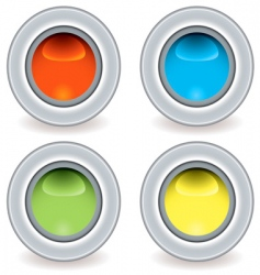 gel plastic icon vector image vector image