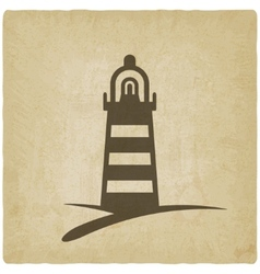 beacon navigate symbol vector image